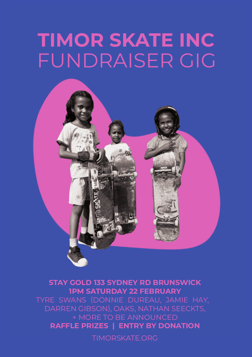 Fundraiser! 22 February at Stay Gold